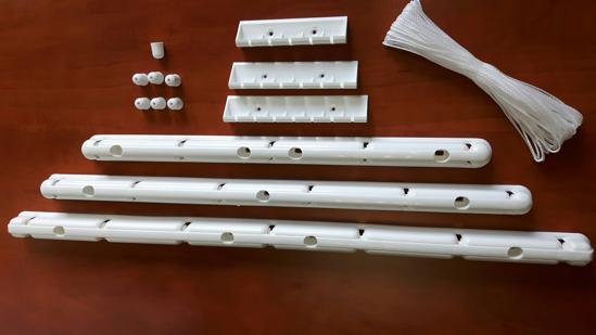 Obrázek z ALDO Stropní sušák na prádlo IDEAL 5 tyčí - stropní lišta 45cm