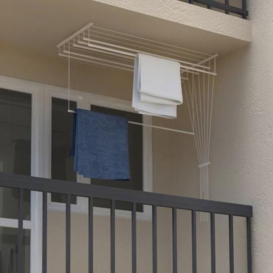 Obrázek z ALDO Stropní sušák na prádlo Ideal 7 tyčí 120 cm
